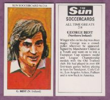 Northern Ireland George Best Manchester United